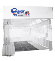 Garmat CTOF Spray Booth available from Cleveland Spray Booth Specialists