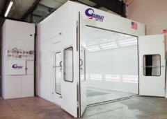 Garmat USA 3000 Series Spray Booth available from Cleveland Spray Booth Specialists